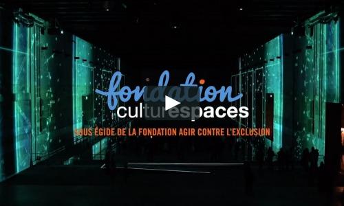visuel de la vidéo de présentation de l'atelier art en immersion aux bassins de lumières de Bordeaux