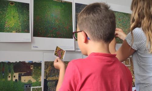 Atelier pédagogique autour de Klimt