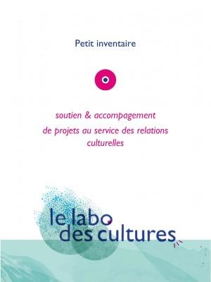 Cliquez sur le visuel pdf pour visualiser Petit inventaire soutien & accompagnement au labo des cultures